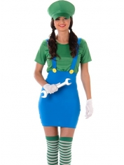 Green Plumber Girl - Women's Costume